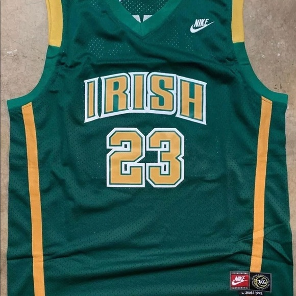 separation shoes 6df42 35bf9 LeBron James Nike High School Jersey NWT